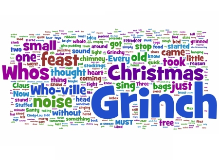How the Grinch Stole Christmas, Wordlized